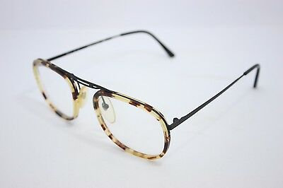 Young Generation Vintage Eyeglasses Made in Italy Round Tortoise 1805D 50mm