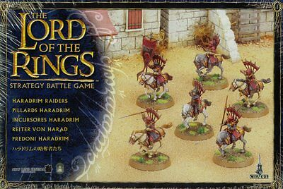 Haradrim Raiders - Lord Of The Rings - Citadel Finecast - Games Workshop