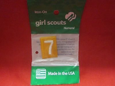 Daisy Girl Scouts Number 7 (New)