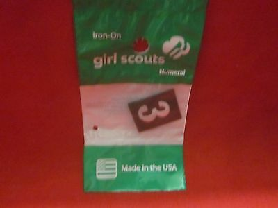 Brownie Girl Scouts Number 3 (New)