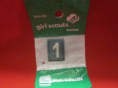 Junior Or Cadette Girl Scouts Number 1 (New)