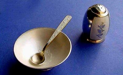 Set, Emaille, Sterling Silber B333