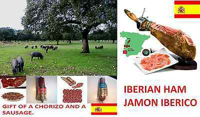 Authentic Iberian Cebo Spanish Ham. Direct from the factory. JAMON IBERICO. DE