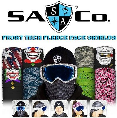 Salt Armour Frost Tech Thermal Fleece Face Shields