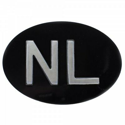 NL (The Netherlands/Nederland) Country ID Plate for Classic Car