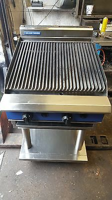 Blue Seal 2 Burner Natural Gas  Free Standing Chargrill, Blueseal Char Grill