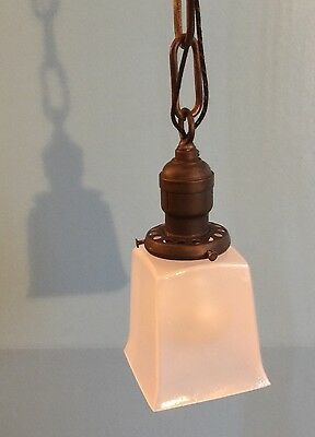 Vintage Industrial Pendant Light Antique Fixture Hubbell Socket Beautiful