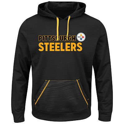 Pittsburgh Steelers NFL Cool Base Hooded Fleece