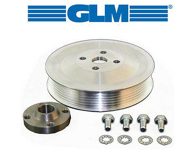 GLM 22213 Serpentine Belt Pulley Kit for Mercruiser Sea/Raw Water Pump 861579