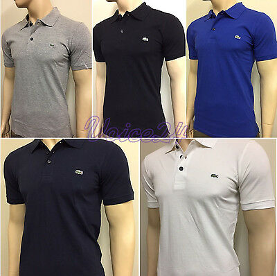 Lacoste Short Sleeve Polo T Shirt for Men Golf Top