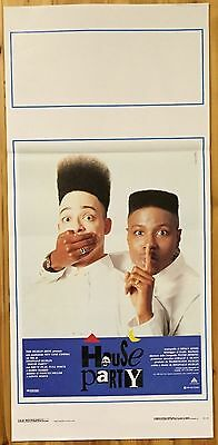 LOCANDINA House Party con Kid'n' Play e Full Force - J902