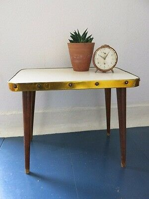 Vintage Mid Century Modern Plant Stand 20th Century Plant Table East Germany