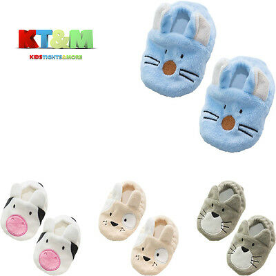 Baby Toddler Boy Girl Winter Animal Warm Anti Slip Slippers Shoes Size0-6,6-12m
