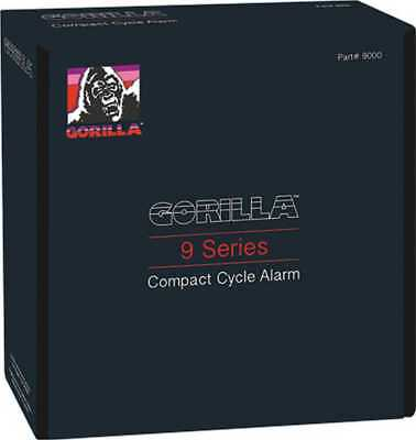 Gorilla Alarm Compact Cycle Alarm W/Remote Transmitter, #9000