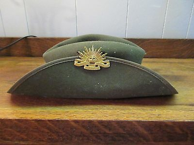 Vintage (Korean War(?)) Australian Commonwealth Military Forces Hat