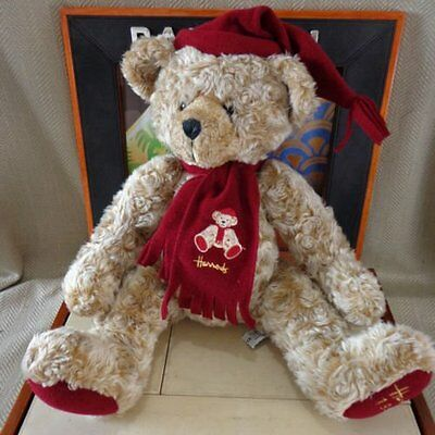 "Large Vintage Harrods Annual Christmas Teddy Bear Foot Dated 13"" 1999 Plush Toy"