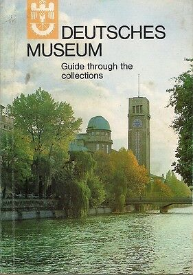 Vintage 1971 DEUTSCHES MUSEUM, Munich, Germany, Collections Guide in English