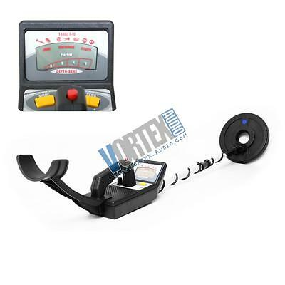 New Pyle PHMD55 Metal Detector, Waterproof Search Coil, Pin-Point Detect, Adjust