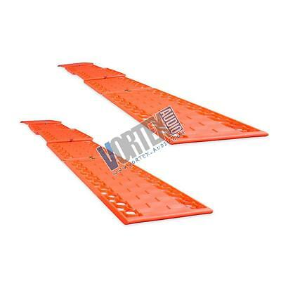 Snow Traction Tire Mats, Vehicle Driving Safety Emergency Ice Pads (Pair)