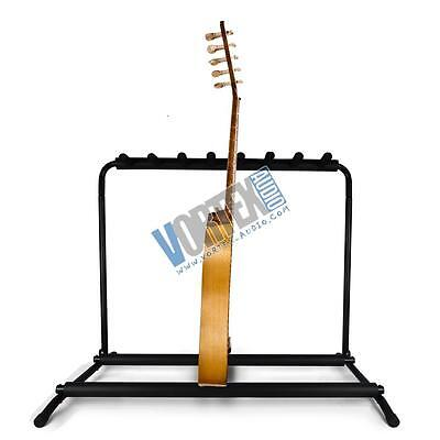 new pyle PGST43 Guitar Stand, Multi-Instrument Floorstand Guitar Rack Holder