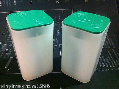 Two Empty US Mint Silver American Eagle Coin Storage tubes bullion inflation