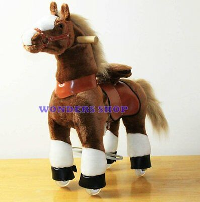 WONDERS SHOP USA Ponycycle Pony Cycle Ride On Horse No Need Battery No Electric