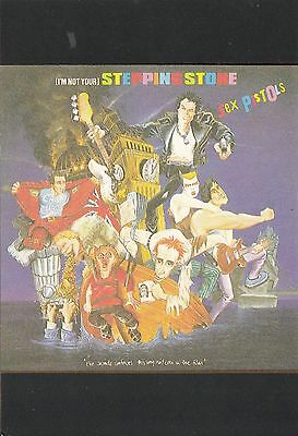 BL422. Advertising Postcard.Sex Pistols. I'm not your stepping stone. Musicians