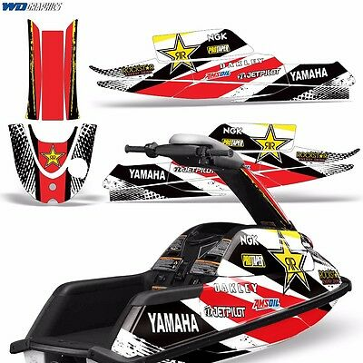 Decal Graphic Kit Yamaha Superjet Ski Wrap Jetski Super Jet Parts Round Nose RS