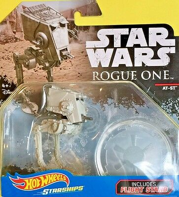 Hot Wheels 2017 Diecast Star Wars Starships AT-ST DXD99 Rogue One