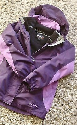 Girls Windproof Waterproof Warm Coat Peter Storm Age 11/12 Years New Purple