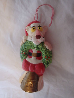 Vintage Pink Panther Christmas Tree Decoration Royal Orleans 1980's  1 or 2