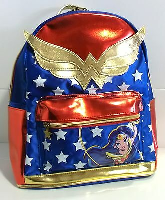 MOCHILA DC SUPER HERO GIRLS WONDER WOMAN Sac à Dos BACKPACK Zaino RUCKSACK 30 cm