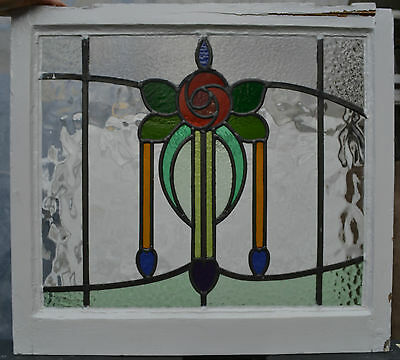 Leaded light stained glass window.. R344b. WORLDWIDE DELIVERY!!!