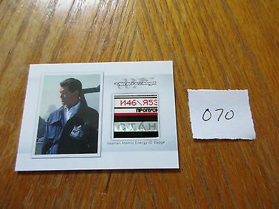 James Bond Archives 2016 SPECTRE Edition Russian ID Badge Prop/Relic MR6 #070