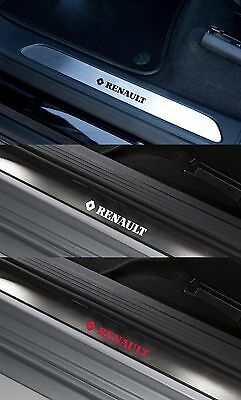 For RENAULT- 4 x Inner Door Sill  VINYL CAR DECAL STICKER ADHESIVE - 150mm long
