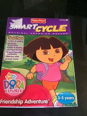 Fisher Price Smart Cycle Dora the Explorer friendship adventure new