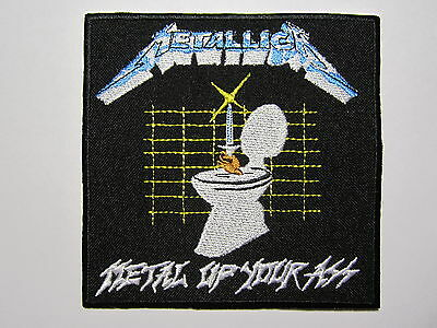 METALLICA Metal Up Your Ass embroidered NEW patch thrash metal