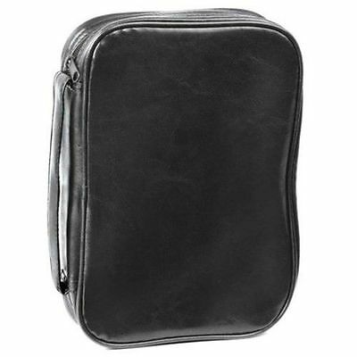 Classic Dake Bible Cover Black Leatherette XXL Size With Handle 030737