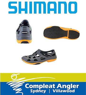 Shimano Evair Shoes Gray and Orange Size 10 BRAND NEW At Compleat Angler