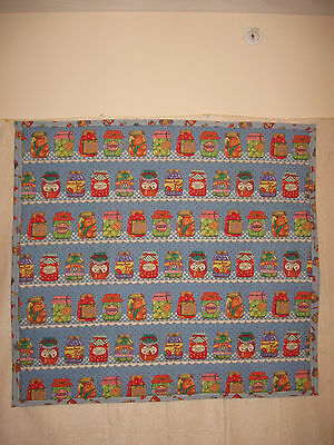 Canning & Jelly Panel Lap Quilt