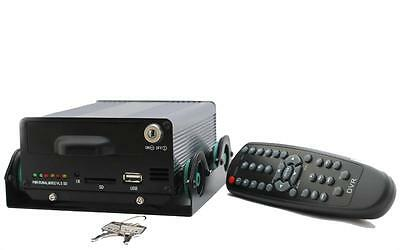 iC8500MDVR4 CHANNEL VIDEO RECORDER DVR CAR TAXI CCTV PASSWORD KEY SD HARD DRIVE