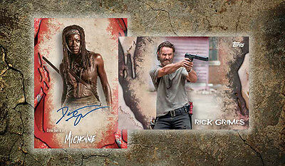 Topps The Walking Dead Survival Sealed Hobby Box Pre Order 12/21  Limited