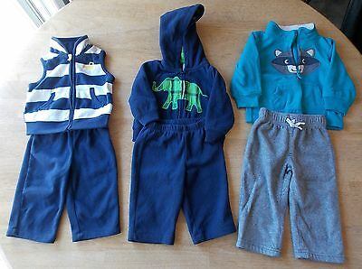 Baby Boy Outfits Lot 6-12 months (#7)