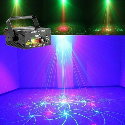 SUNY 3Lens 40 Disco Light Stage DJ Laser Lights Club Party  Lighting Projector B
