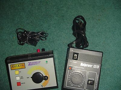Railking Zcontroller &  Railpower 1370  Train Controllers Lot Of  2