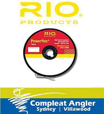 Rio Powerflex Tippet 3X 8.2LB Fly Fishing Line BRAND NEW At Compleat Angler
