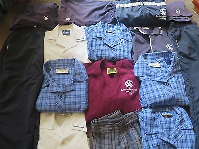 Greensborough College Girls Uniform Size 8-10-12 ...at least 10 items in total