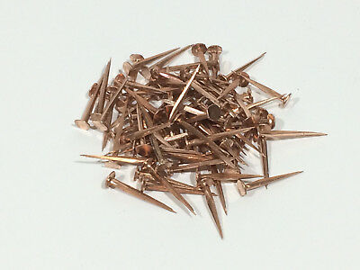 Copper Cut Tacks - 5 sizes Available - British Made