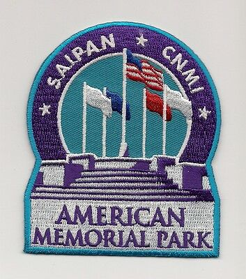 American Memorial Park, Saipan, Northern Mairana Islands Souvenir Patch