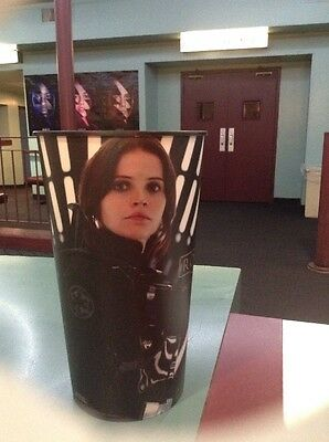 Rogue One A Star Wars Story 44oz Hard Plastic Movie Theater Cup Brand New